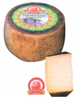 Pecorino stagionato - ovino 3,9-4,1 Kg - vendita al pezzo - stagionatura 180 giorni - Ciliani