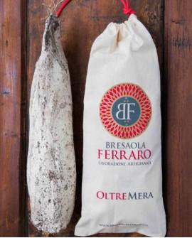 Bresaola della Valtellina artigianale, Sottofesa delicata Oltremera - 3,0 kg stagionatura 45gg - Bresaola Ferraro