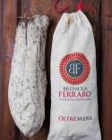 Bresaola della Valtellina artigianale, Punta D'Anca delicata Oltremera - 3,8 kg stagionatura 45gg - Bresaola Ferraro
