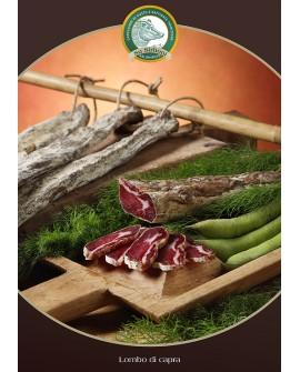 Prosciutto di capra trancio 500 g - s/v Salumificio Su Sirboni
