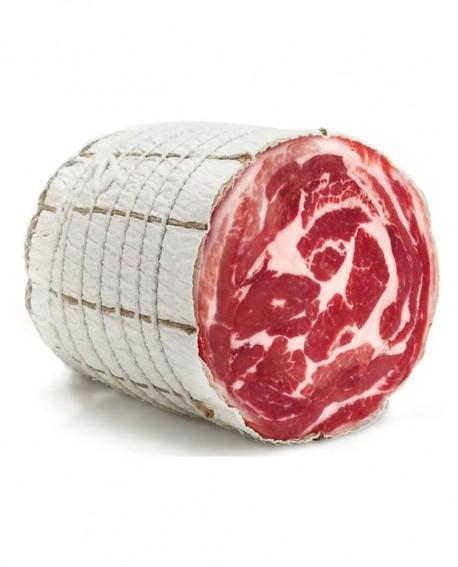 Pancetta Coppata - intero sfuso 4,5Kg - Salumificio De Luca