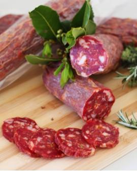 Salame piccante - 400g sottovuoto - stagionatura 50 giorni - Salumi Cembalo
