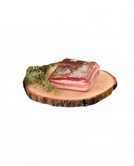 Pancetta Tesa artigianale - Fester Speck - trancio 300g - stagionatura 3 mesi - Salumificio Plauser Speck Ladele