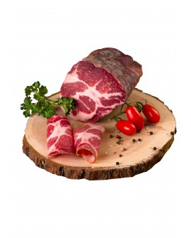 Coppa artigianale - Schweinenacken - intera 1.5Kg - stagionatura 3 mesi - Salumificio Plauser Speck Ladele