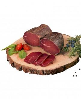 Carne di Manzo Affumicata - Geräuchertes Rindfleisch - trancio 300g - stagionatura 3 mesi - Salumificio Plauser Speck Ladele