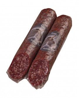 Salame con Asino artigianale - Eselsalami - 250g - stagionatura 2 mesi - Salumificio Plauser Speck Ladele