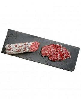 Salame con Capriolo artigianale - Rehsalami - 250g - stagionatura 2 mesi - Salumificio Plauser Speck Ladele