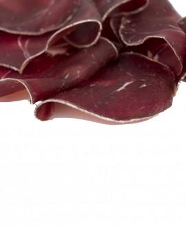 Bresaola di Montagna - affettato 100g sottovuoto - stagionatura 5 mesi - Fratelli Corra