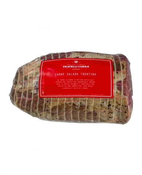 Carne Salada Trentina - trancio grande 2.5Kg sottovuoto - Fratelli Corra