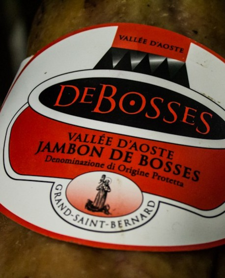 Jambon DOP - Disossato fiocco 4,2 kg stagionatura 17-18 mesi - De Bosses