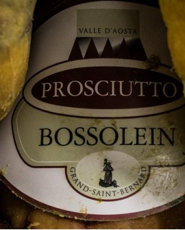 Bossolein Disossato Press. 6,5 kg stagionatura 13 mesi - De Bosses