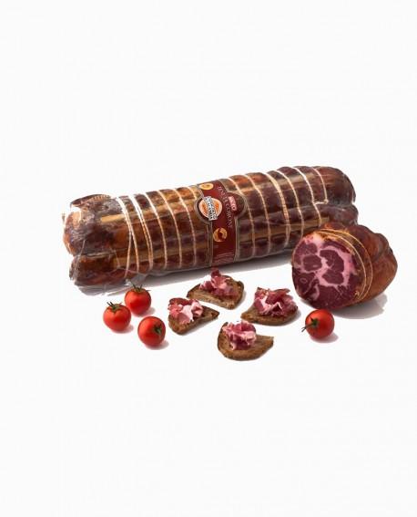 Capocollo di Calabria D.O.P. piccante 2,5 kg Tenuta Corone - Salumificio Madeo