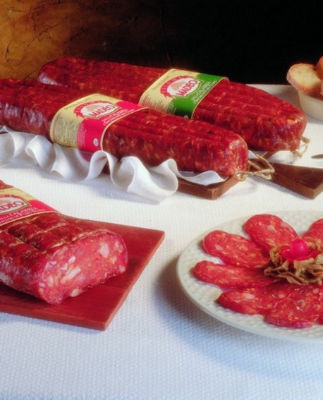 Spianata Calabrese rossa dolce 900 g Salumificio Madeo