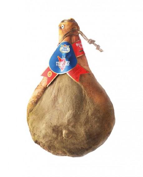 Prosciutto Toscano DOP con osso 9 kg - Stagionatura 14 mesi - Salumeria di Monte San Savino