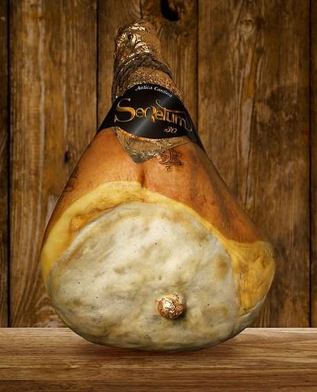 Prosciutto di Parma DOP classico con osso Cantina Secretum 10 kg  - Stagionato 30 mesi e oltre - Devodier