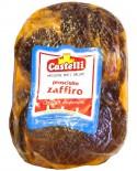 Prosciutto disossato Zaffiro SV - sgambato dolce a fesa alta - stagionatura 12-13 mesi - 6,5 kg - Castelli Salumi