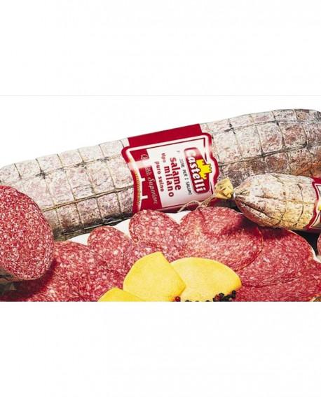 Salame tipo Milano tradizionale puro suino - 3,1 kg - Castelli Salumi