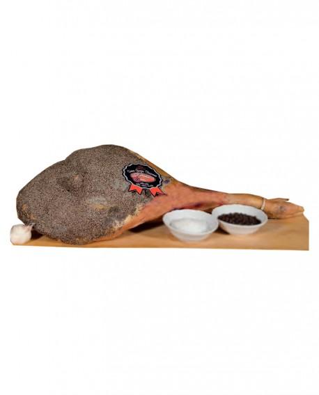 Prosciutto con osso suino grigio allevato allo stato Brado - 8 kg - Sapori della Valdichiana