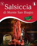 Salsiccia di Monte San Biagio Barzotta Catenella Dolce 800g - Salumi Grufà