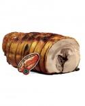 Tronchetto in porchetta cotto in forno a legna sottovuoto- SV - 5 kg - Sapori della Valdichiana