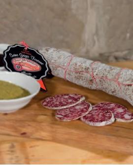 Salame sbriciolona di suino toscano brado - 2,5 Kg - Sapori della Valdichiana