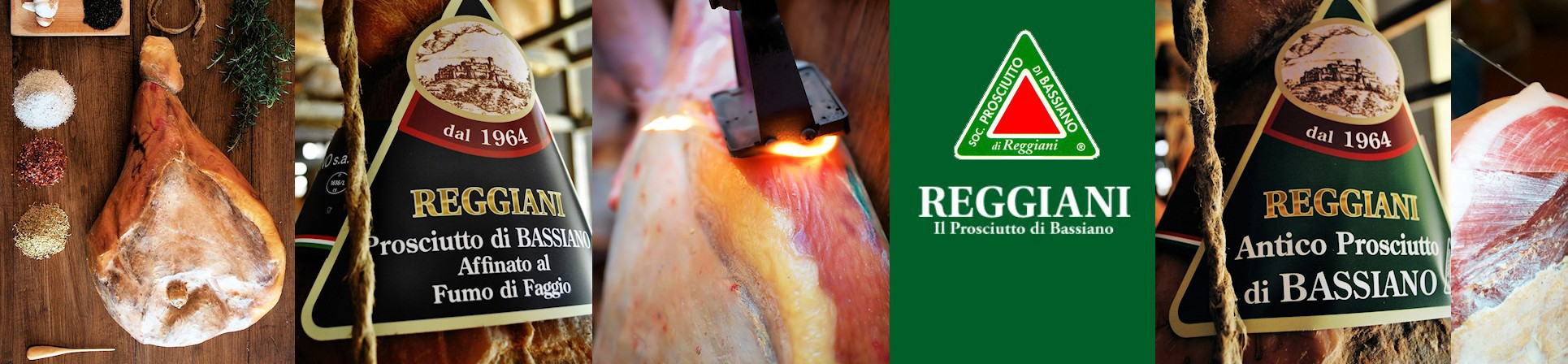 Prosciutto di Bassiano - Reggiani - vendita online