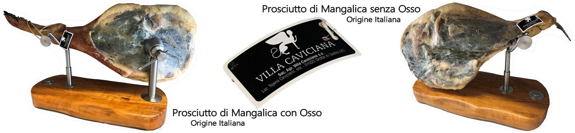 prosciutto di mangalica vendita online - VILLA CAVICIANA ALLEVAMENTI